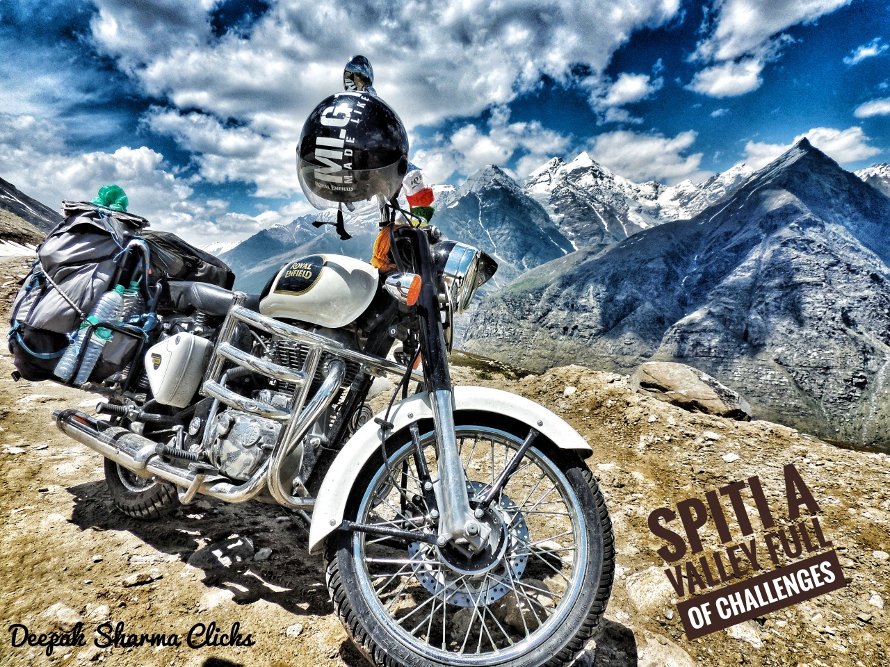 Spiti Bike trip (A Forbidden valley of beauty and challenges)