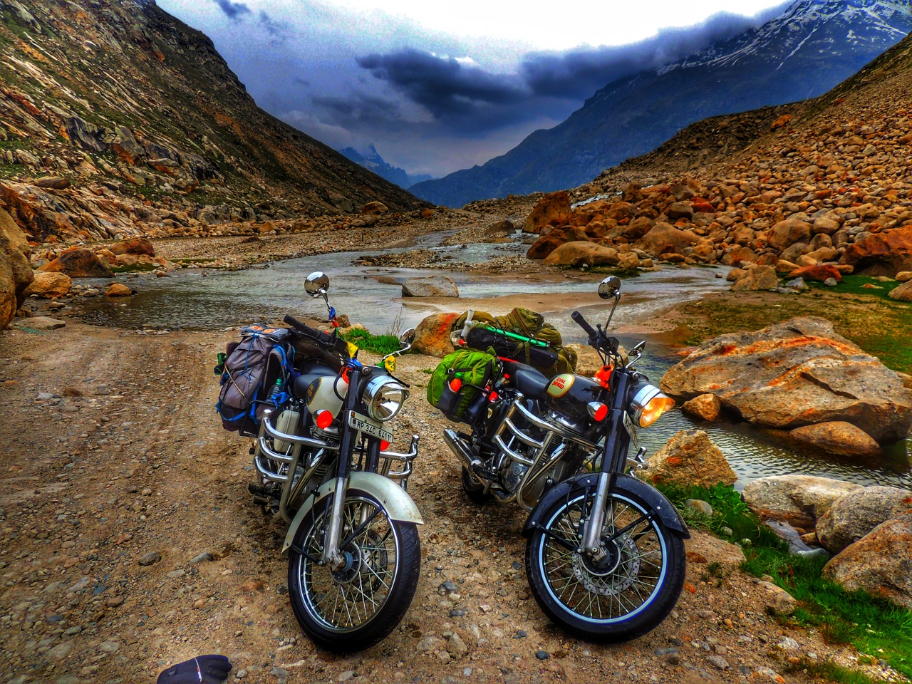 Video Travelogue- The Spiti Bike Trip.. 6 DaYs in 8 MiNs
