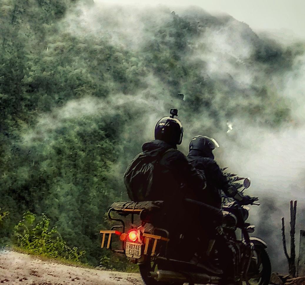 Himalayan Bike Safari- What Happens in Rains inSikkim