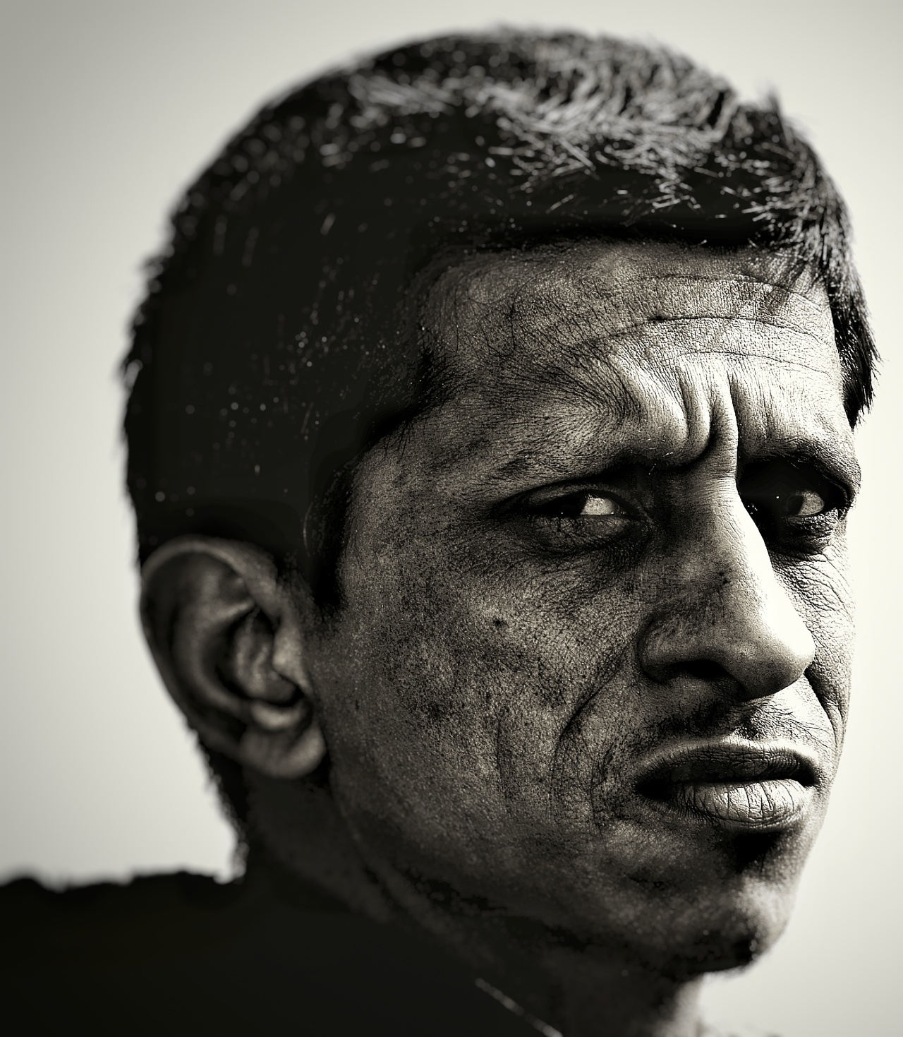 Sandeep- Faces in Disguise (140 mm Portrait Experiment)