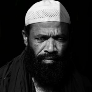 A portrait of Mullah from West Bengal, shot with 50mm Nikon Prime.
